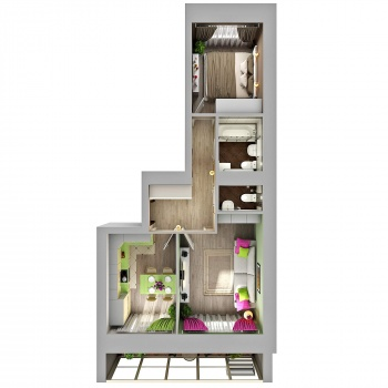 Продажа 2-к квартиры Азата Аббасова