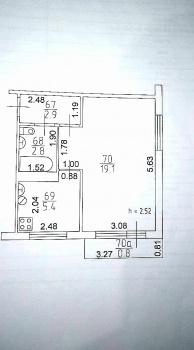 Продажа 1-к квартиры Меховщиков, д. 3