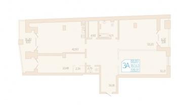 Продажа 3-к квартиры Муштари д. 18