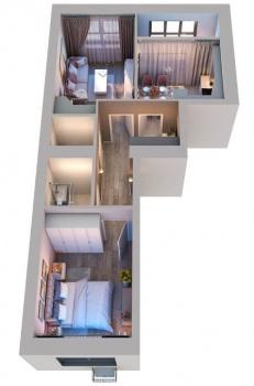 Продажа 2-к квартиры Мира