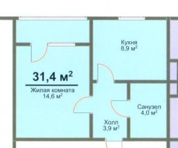 Продажа 1-к квартиры 14й квартал