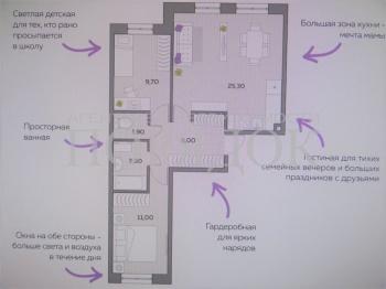 Продажа 3-к квартиры Тэцевская, 4