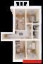 Продажа 3-к квартиры Восстания,129 (ост. Тасма), 103.3 м² (миниатюра №2)