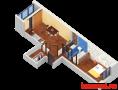 Продажа 1-к квартиры Пр Строителей, 48 м² (миниатюра №3)
