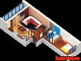 Продажа 2-к квартиры Пр Строителей, 54.5 м² (миниатюра №1)