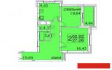 Продажа 2-к квартиры Сахарова , 63.0 м² (миниатюра №2)