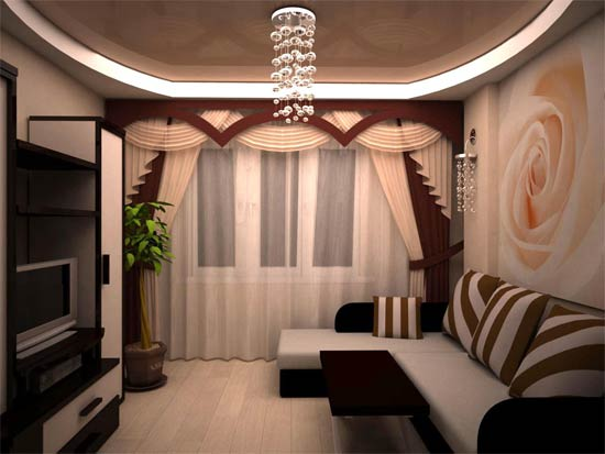 Дизайны ремонта зала